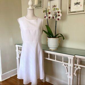 Carolina Herrera White Dress Size 10
